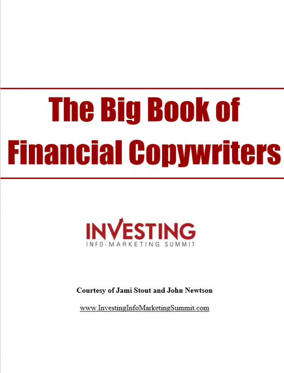 Financial Copywriters Cover