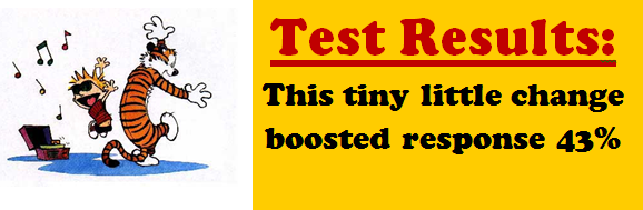 Conversion Test Results: Button Text