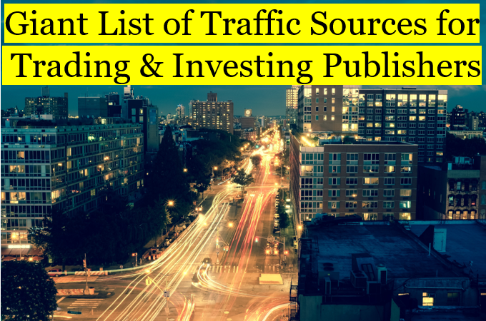 financial traffic sources