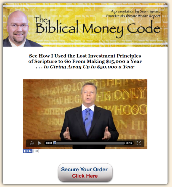The Bible Code Video Page